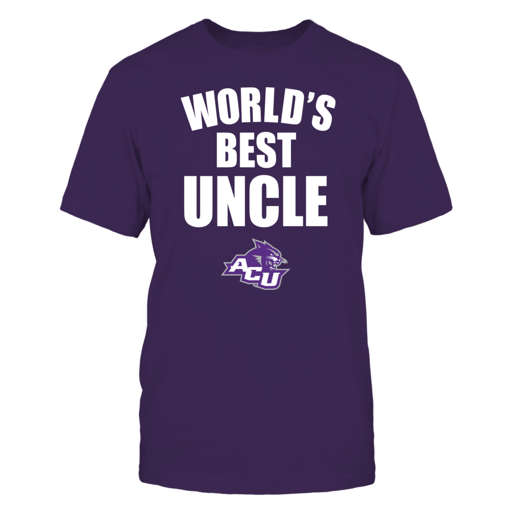 Abilene Christian Wildcats - World's Best Uncle - Bold Front picture