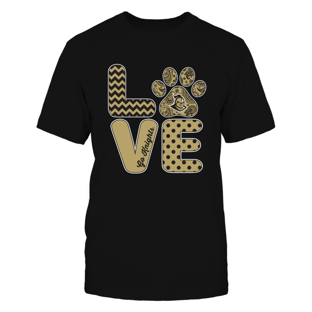 UCF Knights - Love - Paw Front picture