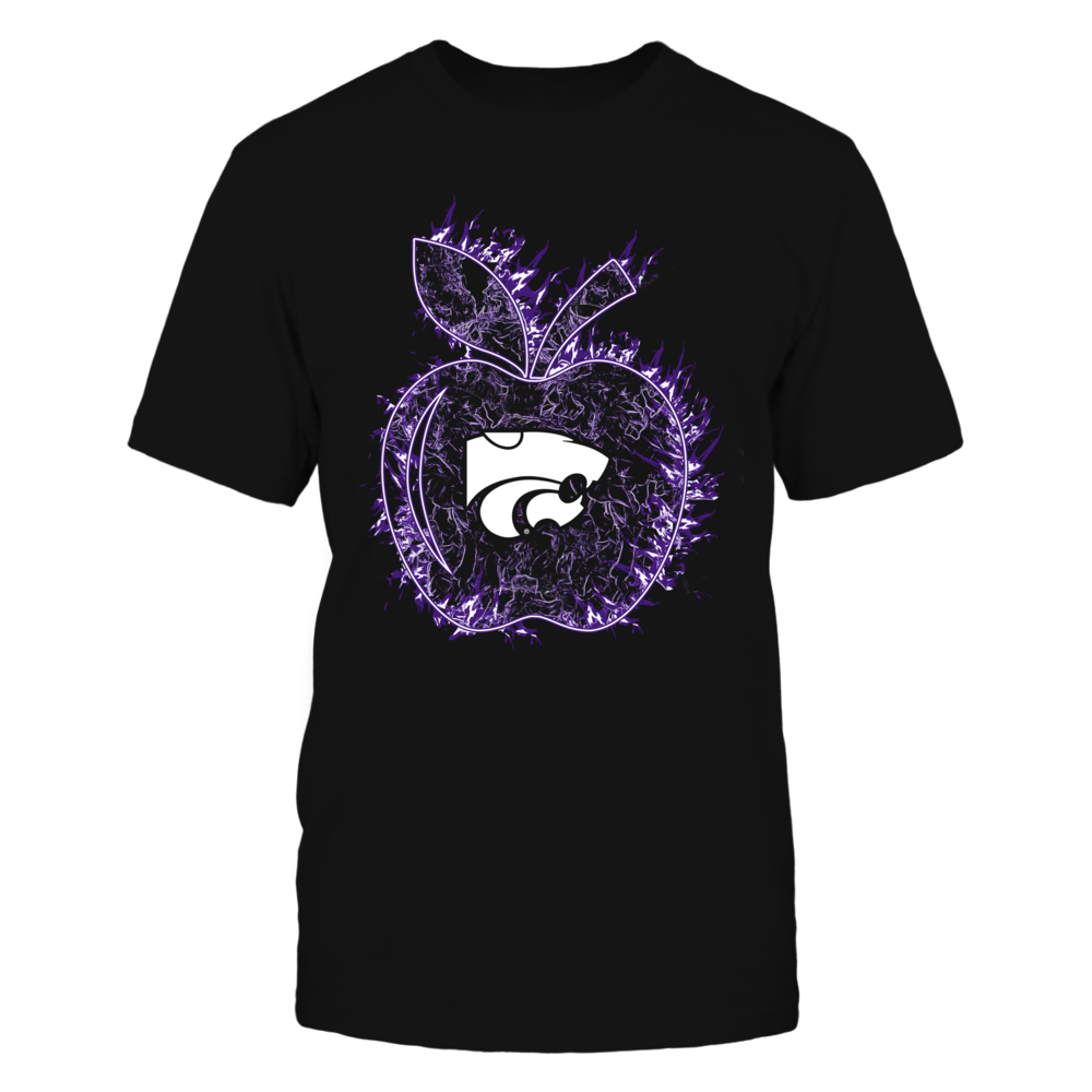 Kansas State Wildcats - Teacher - Apple On Fire Front picture