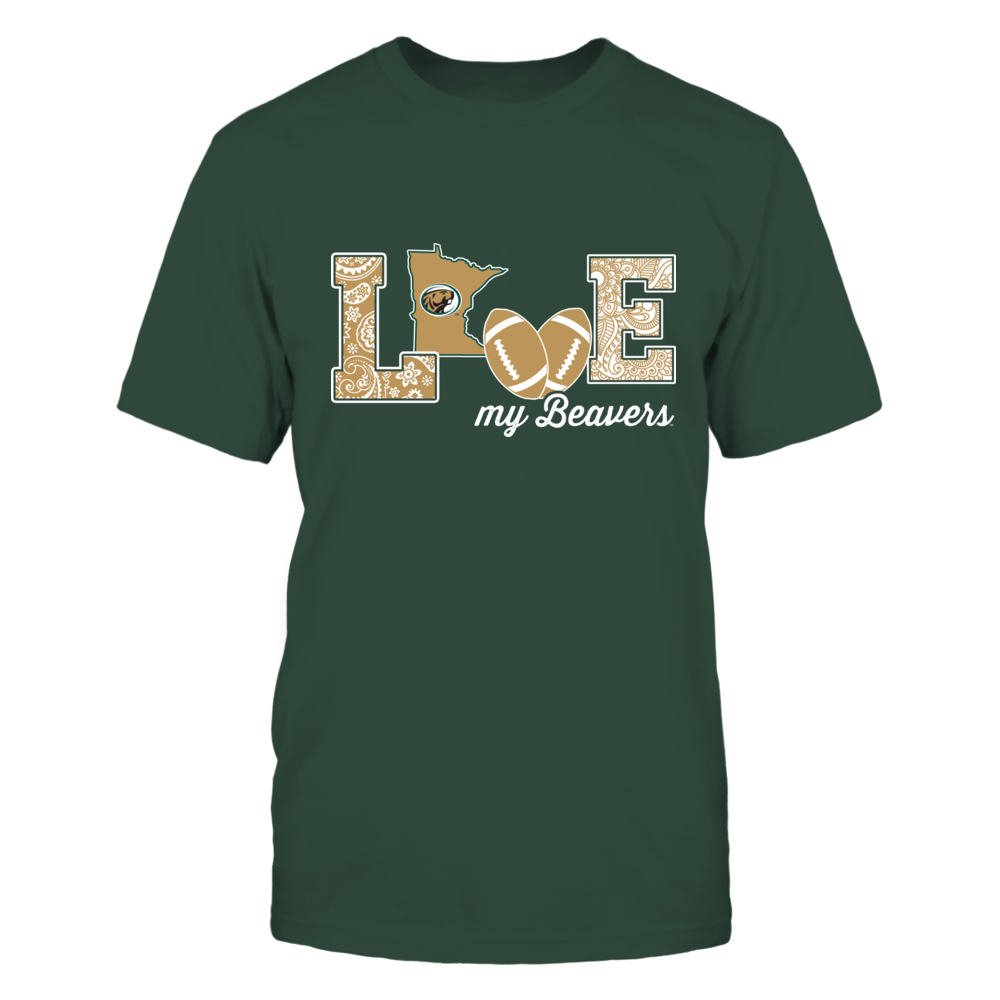 Bemidji State Beavers - Love My Team - Football - Original Front picture