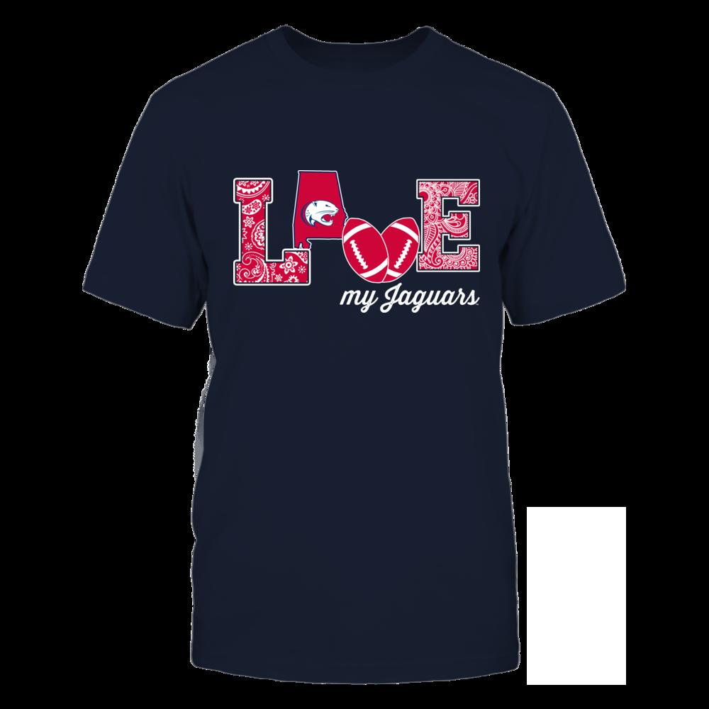 South Alabama Jaguars - Love My Team - Football - Original Front picture