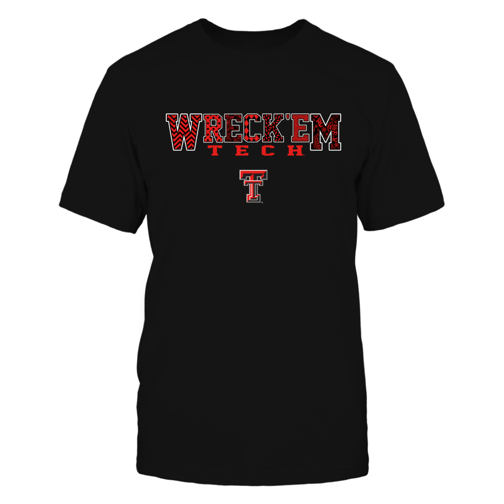 Texas Tech Red Raiders - Team Slogan Pattern Front picture