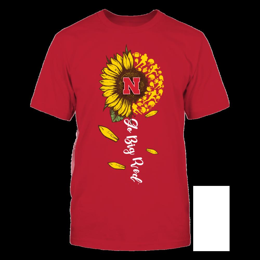 Nebraska Cornhuskers - Sunflower Of Things - Slogan - Football Front picture