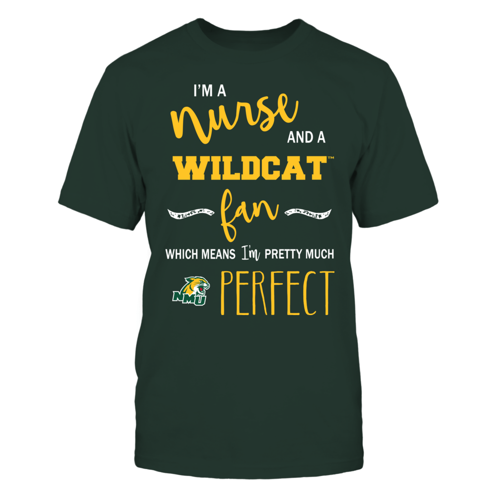 Northern Michigan Wildcats - Perfect Nurse Front picture