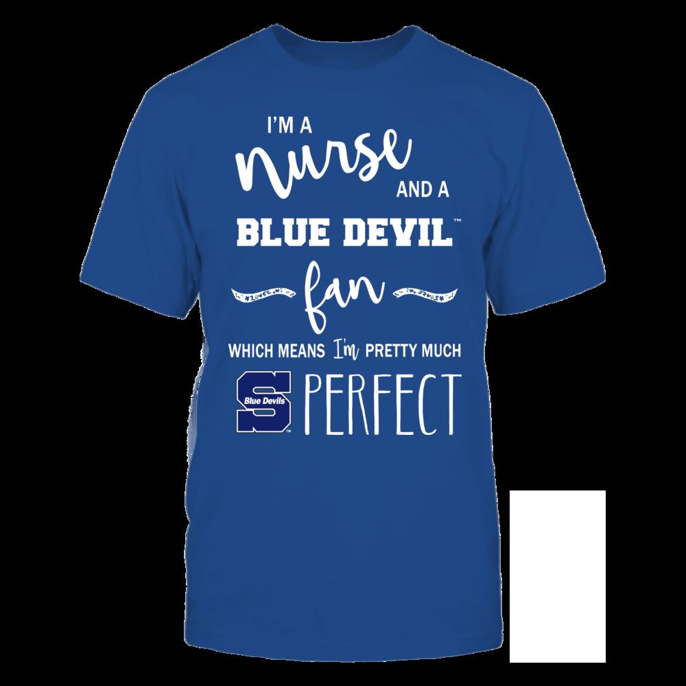 Wisconsin Stout Blue Devils - Perfect Nurse Front picture