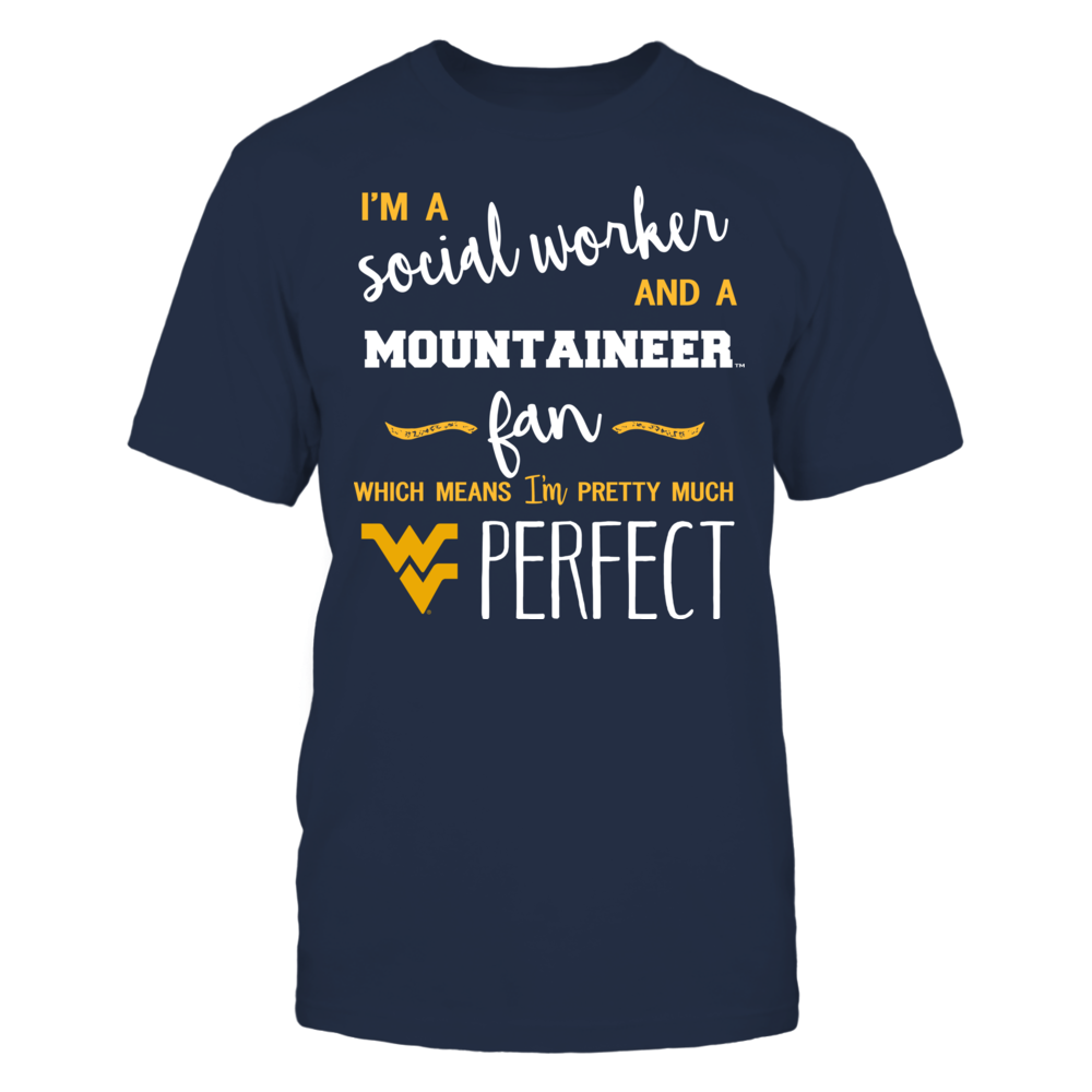 West Virginia Mountaineers - Perfect Social Worker - Team - Banner - IF-IC13-DS27 Front picture