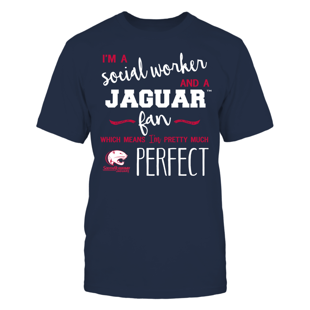 South Alabama Jaguars - Perfect Social Worker - Team Front picture
