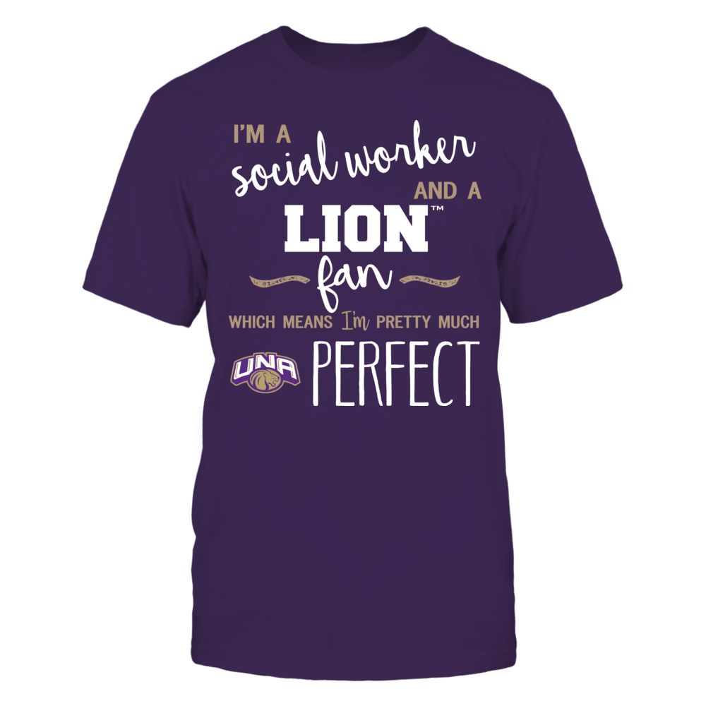 North Alabama Lions - Perfect Social Worker - Team Front picture