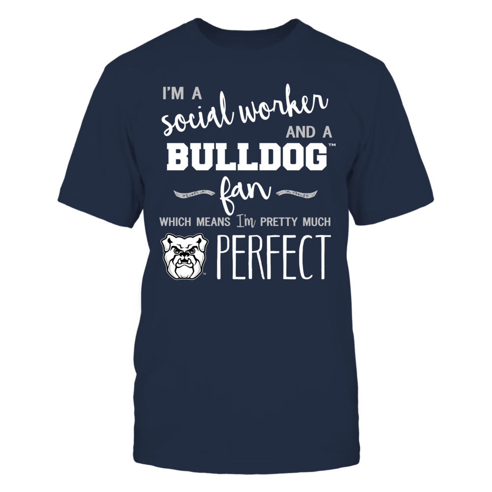 Butler Bulldogs - Perfect Social Worker - Team Front picture