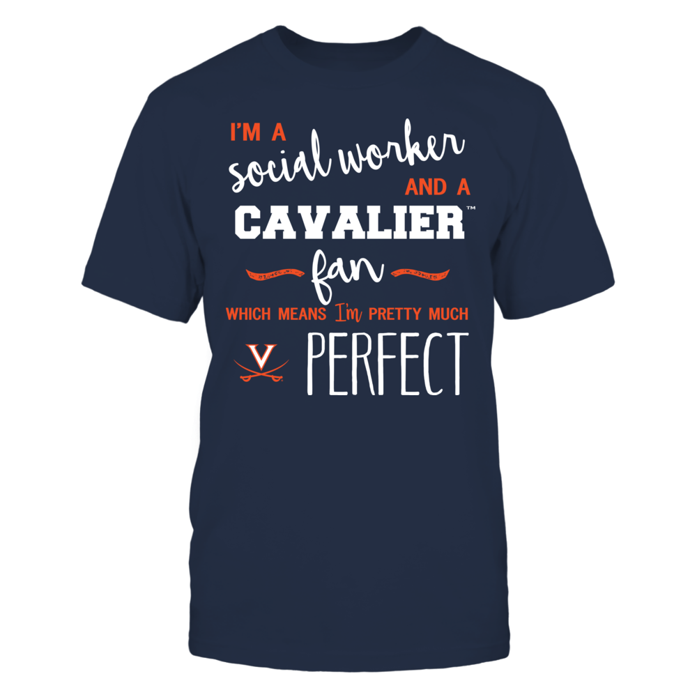 Virginia Cavaliers - Perfect Social Worker - Team Front picture