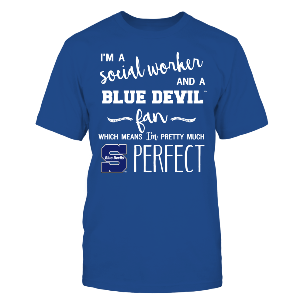 Wisconsin Stout Blue Devils - Perfect Social Worker - Team Front picture