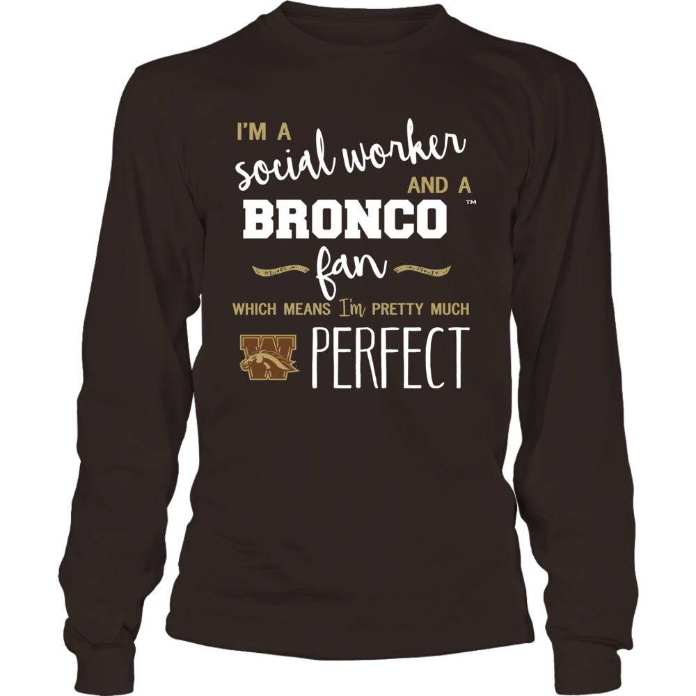Western Michigan Broncos - Perfect Social Worker - Team Front picture