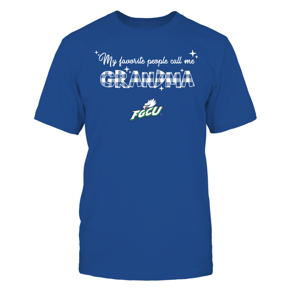 Florida Gulf Coast Eagles - My Favorite People Call Me Mimi - Checkered Pattern Front picture