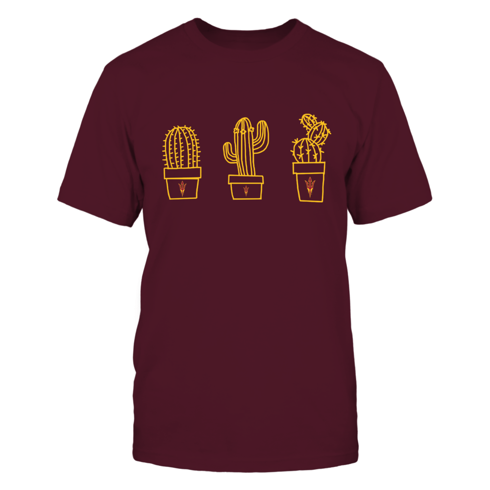 Arizona State Sun Devils - Three Pots Of Cactus - IF-IC17-DS37 Front picture