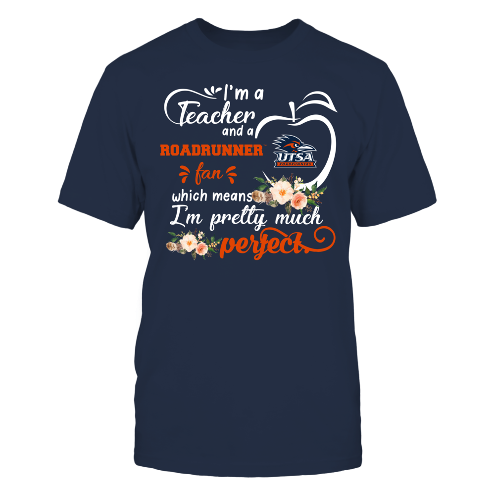 UTSA Roadrunners - Perfect Teacher - Floral Front picture