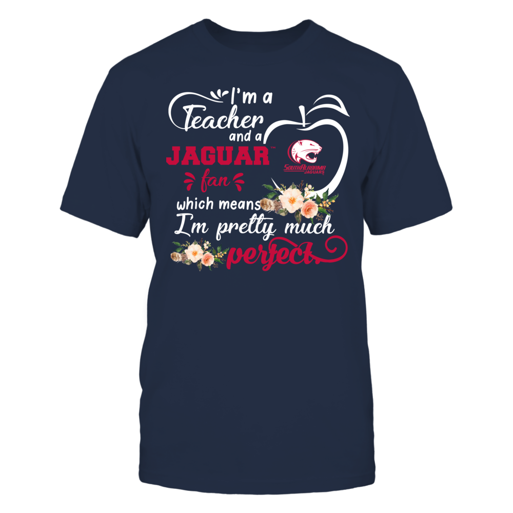 South Alabama Jaguars - Perfect Teacher - Floral Front picture