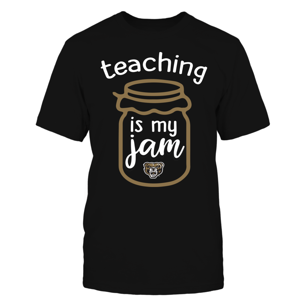 Oakland Golden Grizzlies - Teaching is My Jam - Jar Front picture