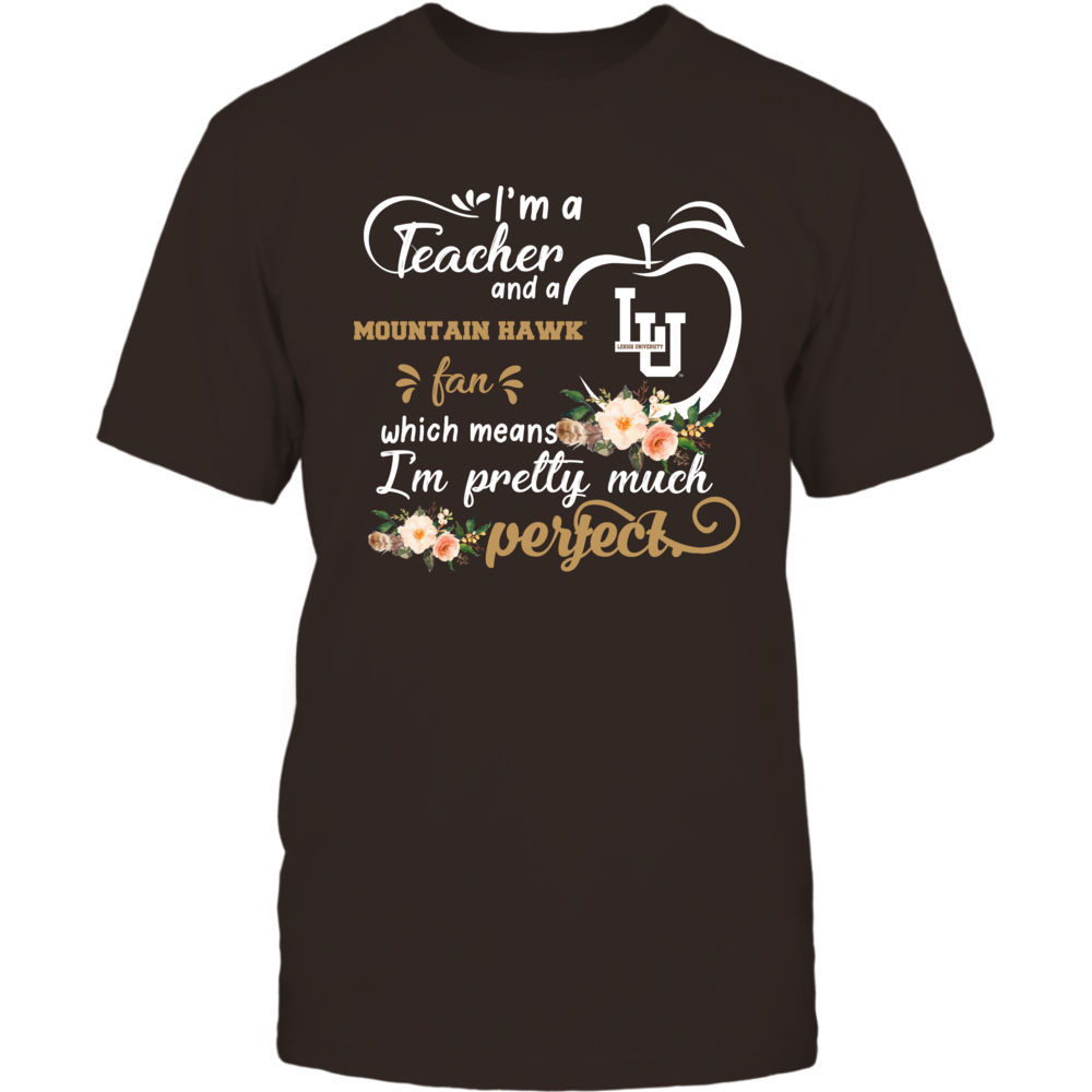 Lehigh Mountain Hawks - Perfect Teacher - Floral Front picture