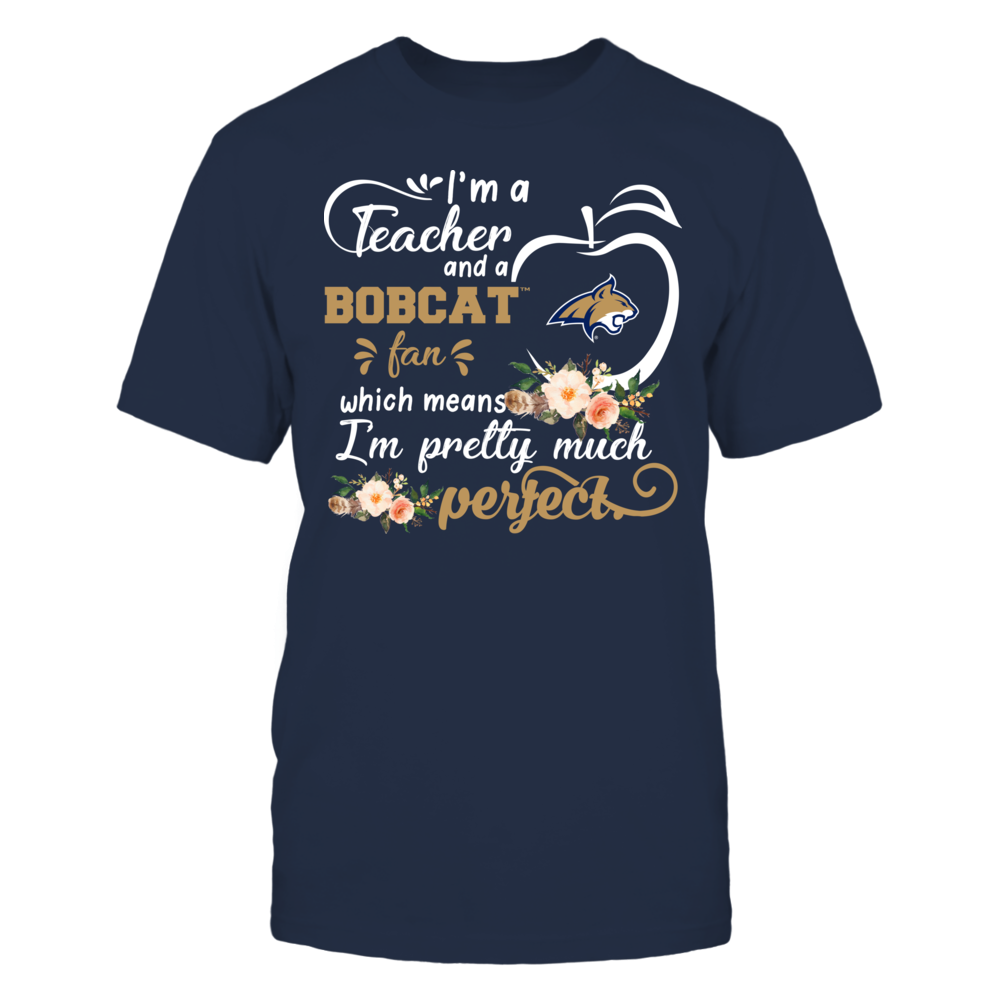 Montana State Bobcats - Perfect Teacher - Floral Front picture