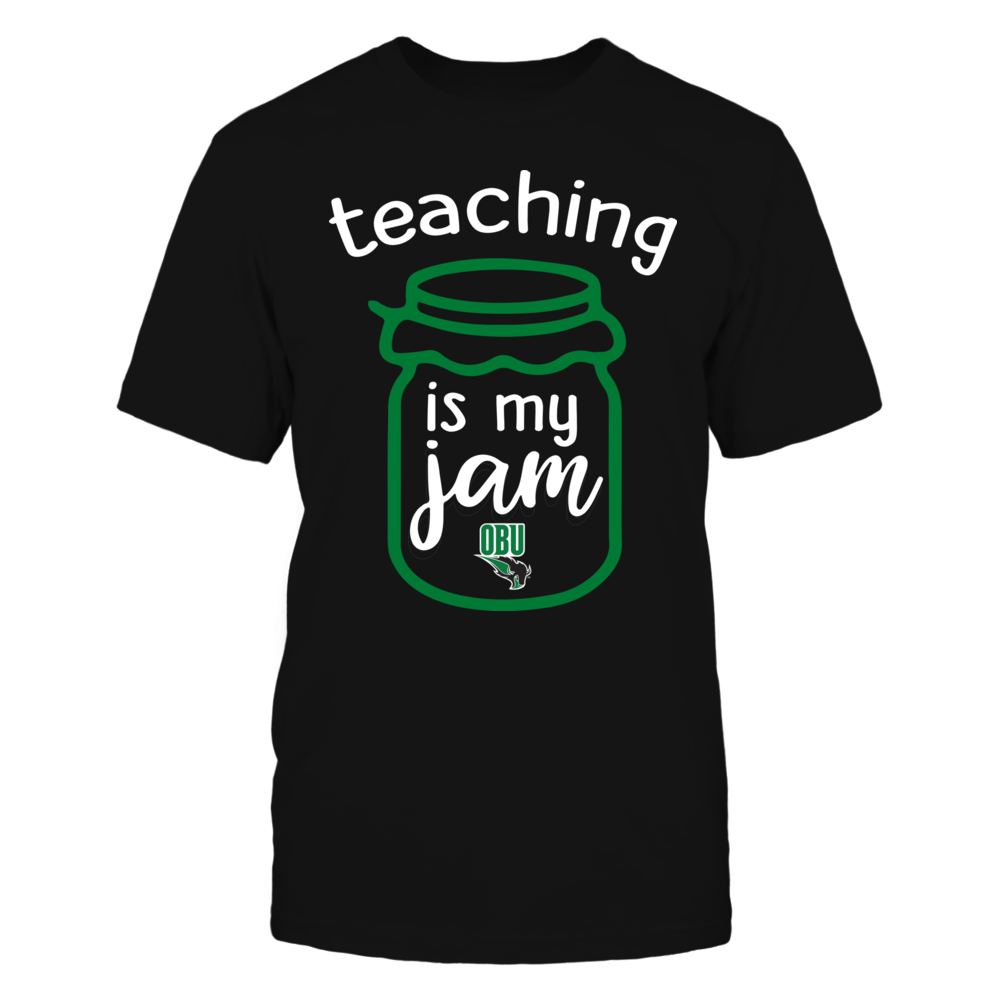 Oklahoma Baptist Bison - Teaching is My Jam - Jar Front picture