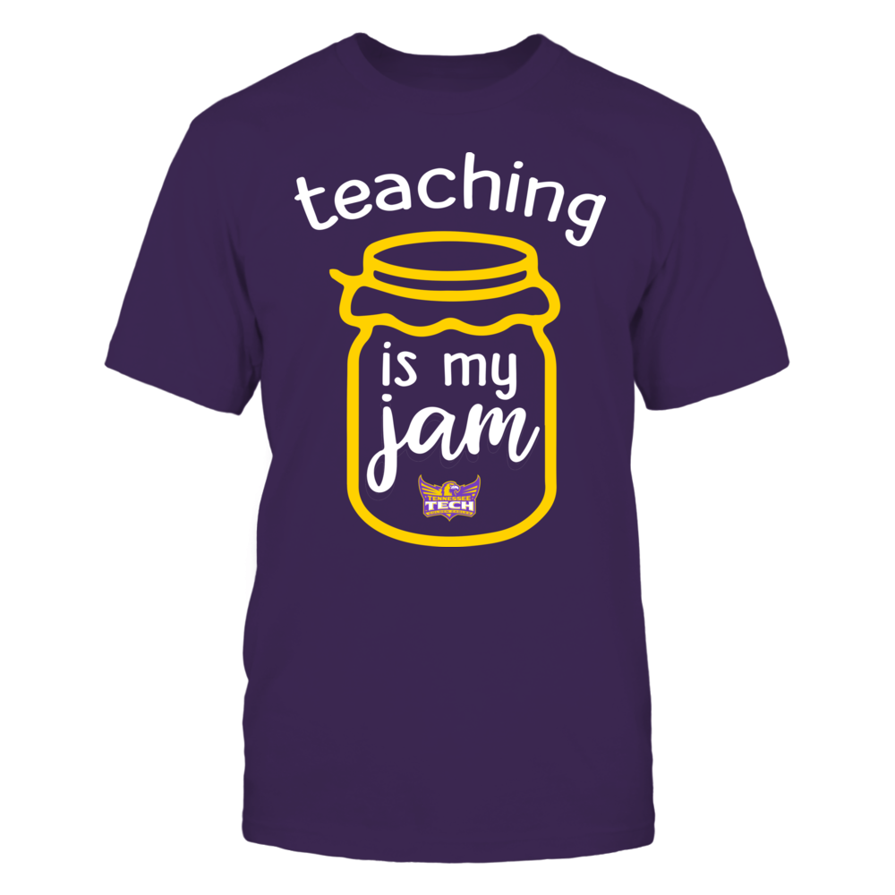Tennessee Tech Golden Eagles - Teaching is My Jam - Jar Front picture
