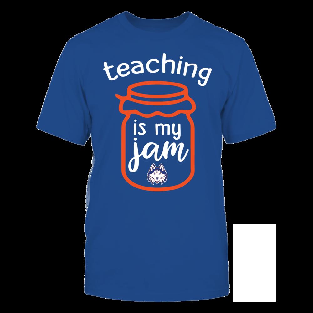 Houston Baptist Huskies - Teaching is My Jam - Jar Front picture