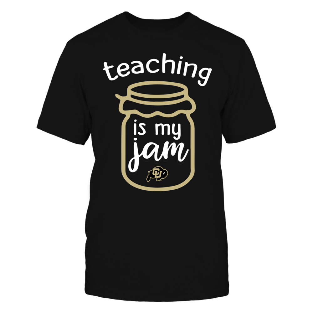 Colorado Buffaloes - Teaching is My Jam - Jar Front picture