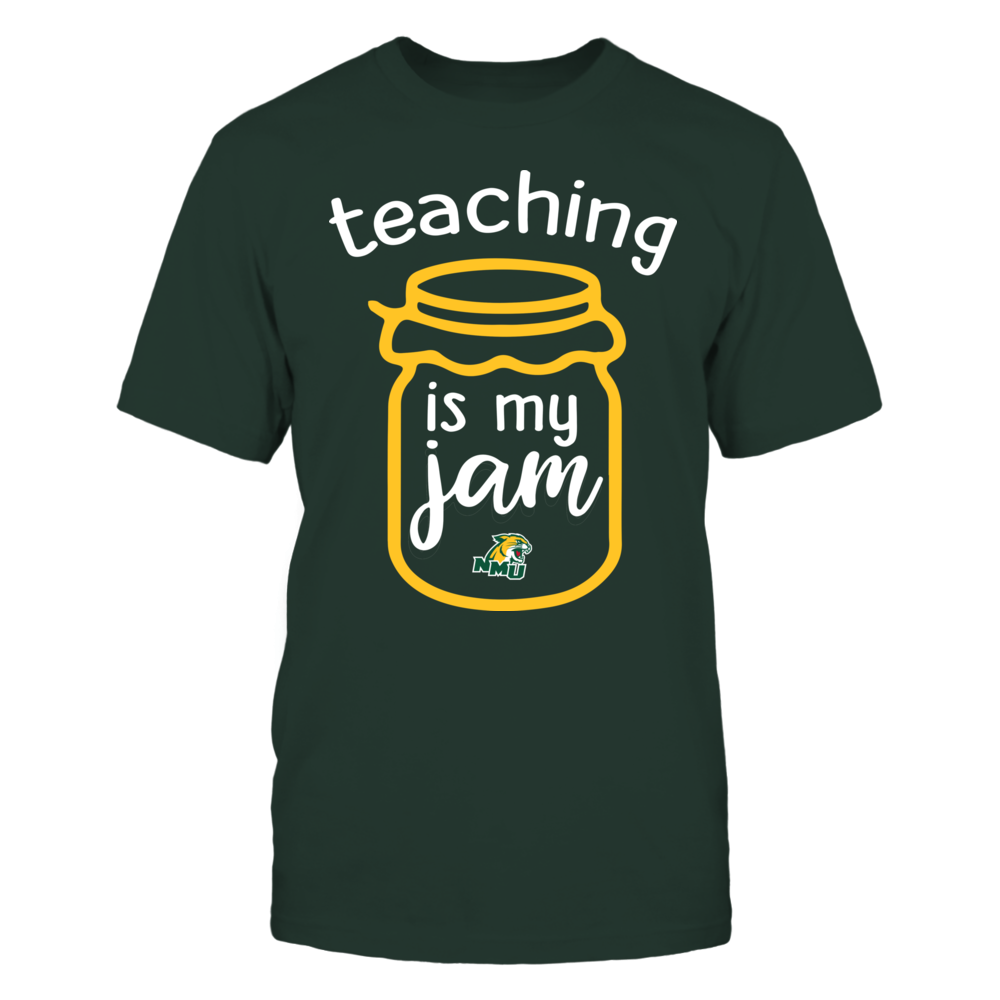 Northern Michigan Wildcats - Teaching is My Jam - Jar Front picture