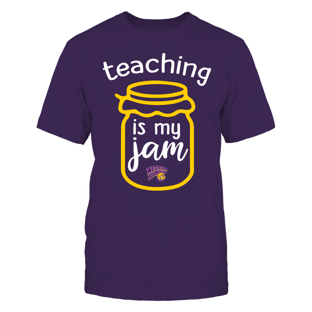 Western Illinois Leathernecks - Teaching is My Jam - Jar Front picture