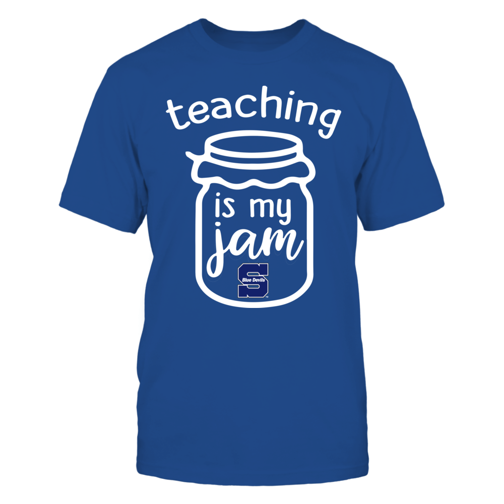 Wisconsin Stout Blue Devils - Teaching is My Jam - Jar Front picture