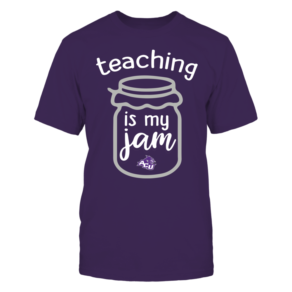 Abilene Christian Wildcats - Teaching is My Jam - Jar Front picture
