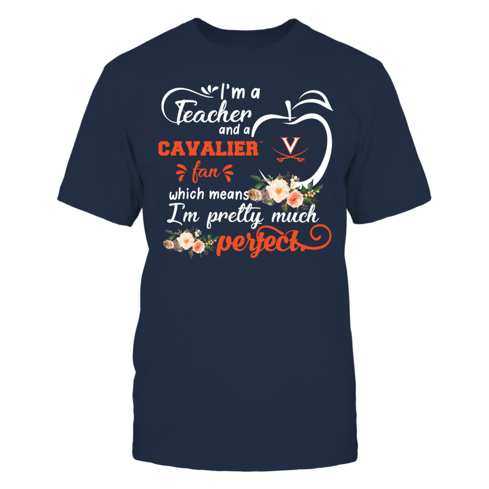 Virginia Cavaliers - Perfect Teacher - Floral Front picture