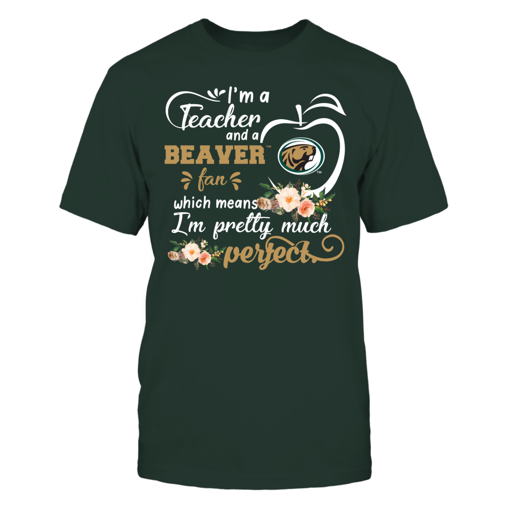 Bemidji State Beavers - Perfect Teacher - Floral Front picture