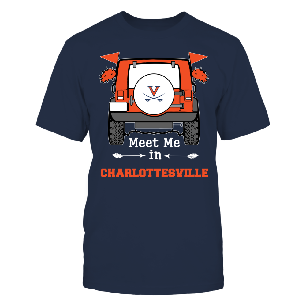 Virginia Cavaliers - Meet Me In - City - IF-IC13-DS45 Front picture