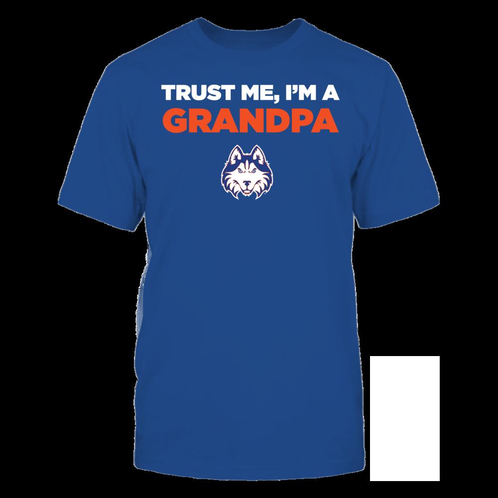 Houston Baptist Huskies - Trust Me - I'm a Grandpa - Team Front picture
