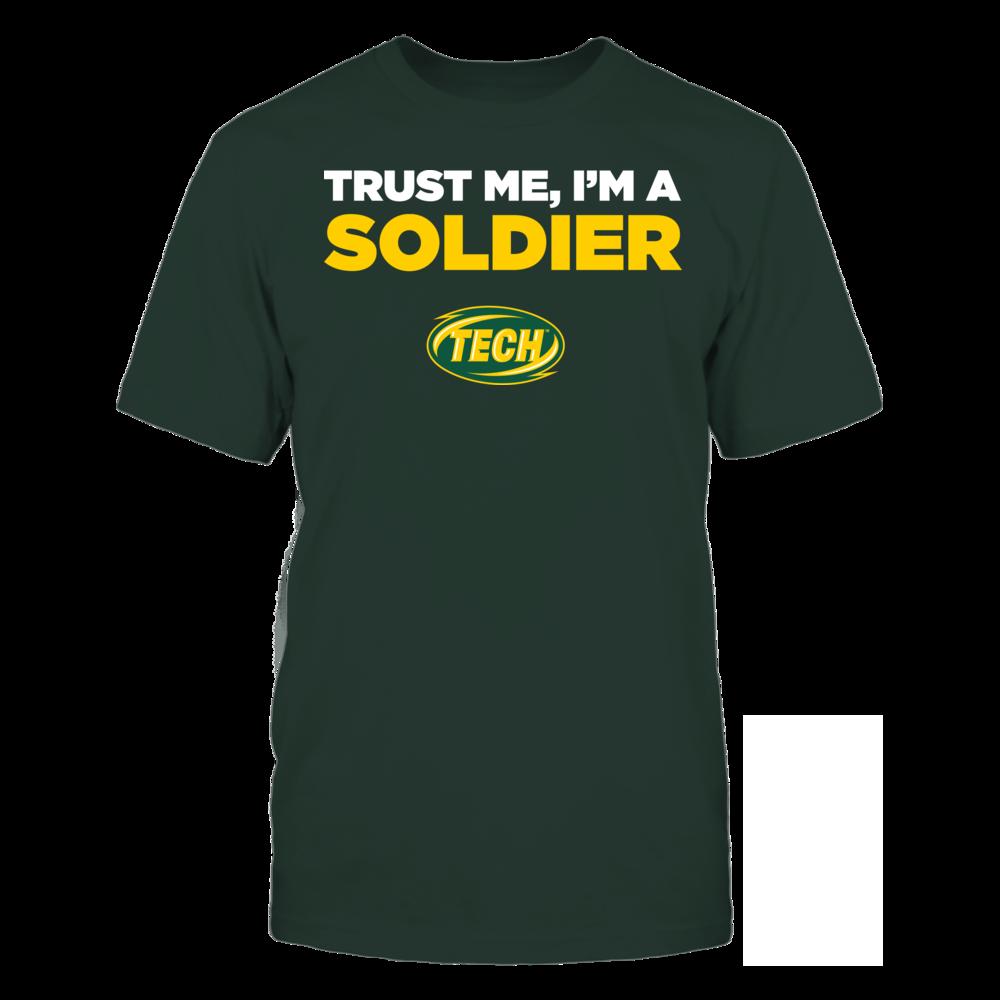 Arkansas Tech Golden Suns - Trust Me - I'm a Soldier - Team Front picture