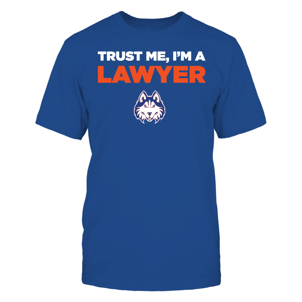 Houston Baptist Huskies - Trust Me - I'm a Lawyer - Team Front picture
