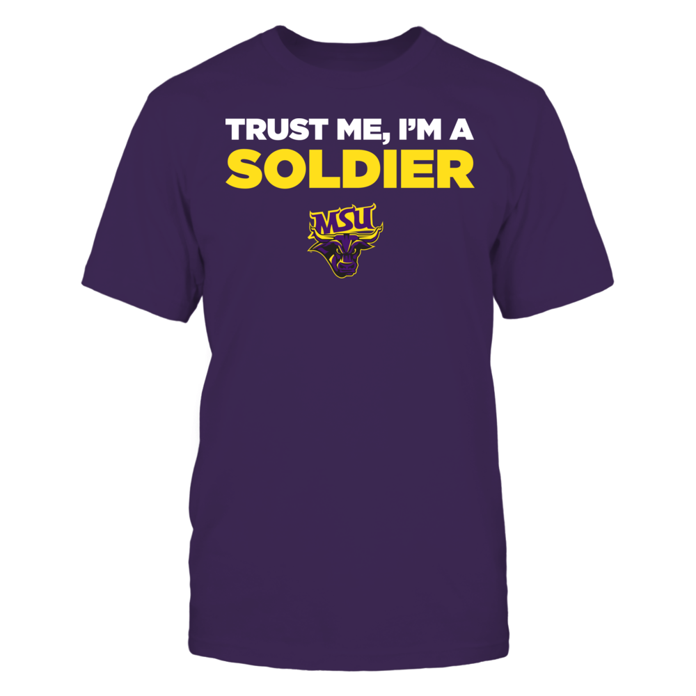 Minnesota State Mavericks - Trust Me - I'm a Soldier - Team Front picture