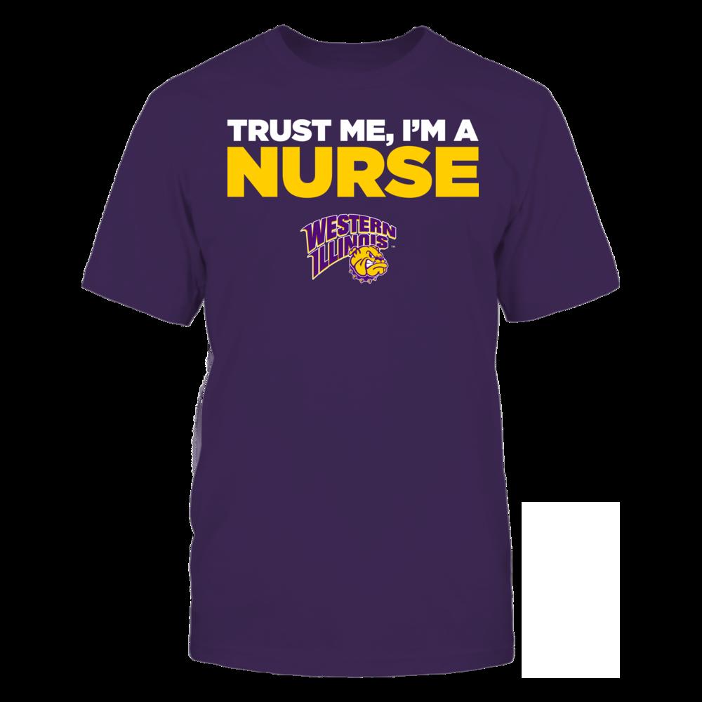 Western Illinois Leathernecks - Trust Me - I'm a Nurse - Team Front picture