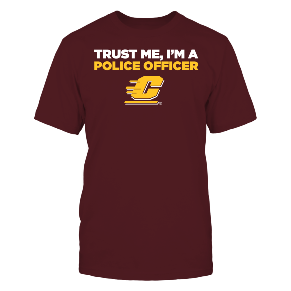 Central Michigan Chippewas - Trust Me - I'm a Police Officer - Team Front picture
