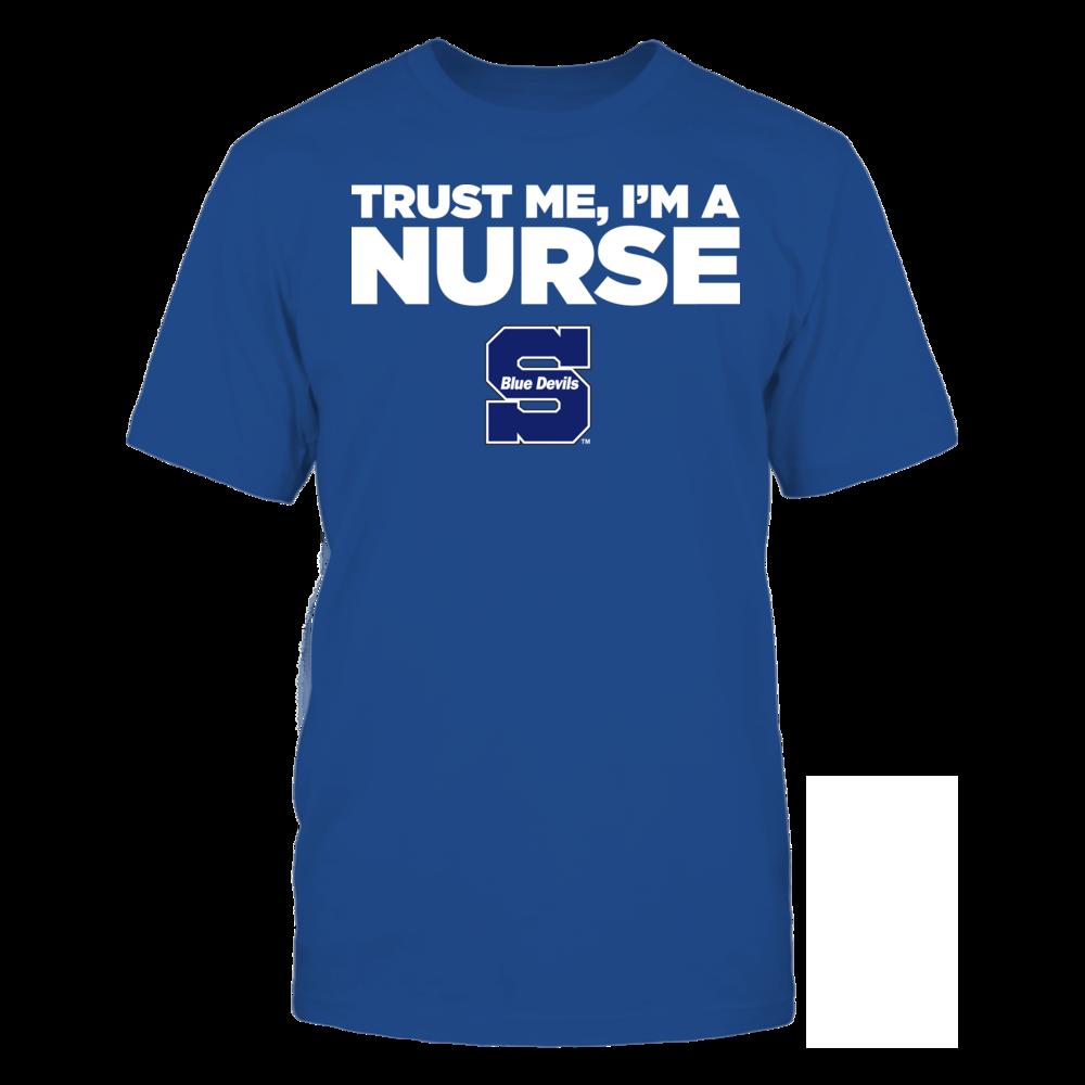 Wisconsin Stout Blue Devils - Trust Me - I'm a Nurse - Team Front picture