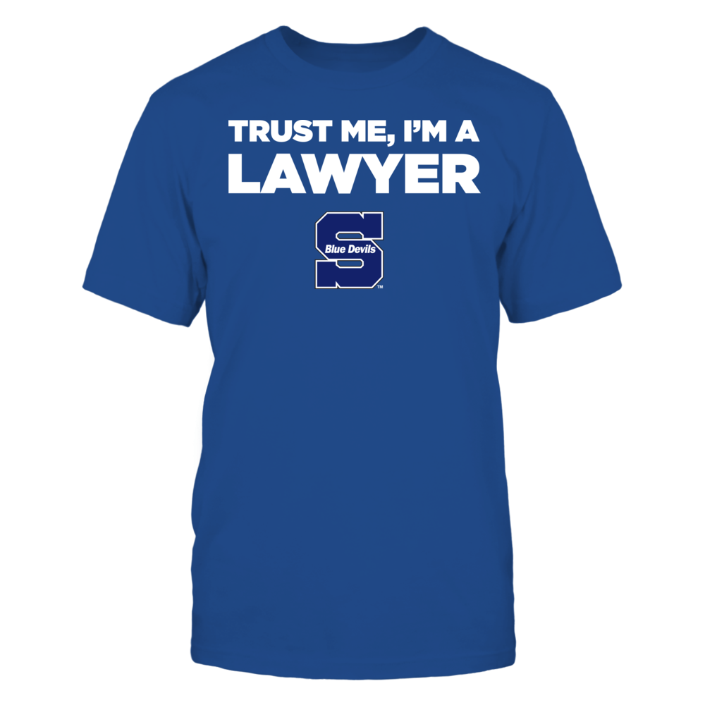 Wisconsin Stout Blue Devils - Trust Me - I'm a Lawyer - Team Front picture