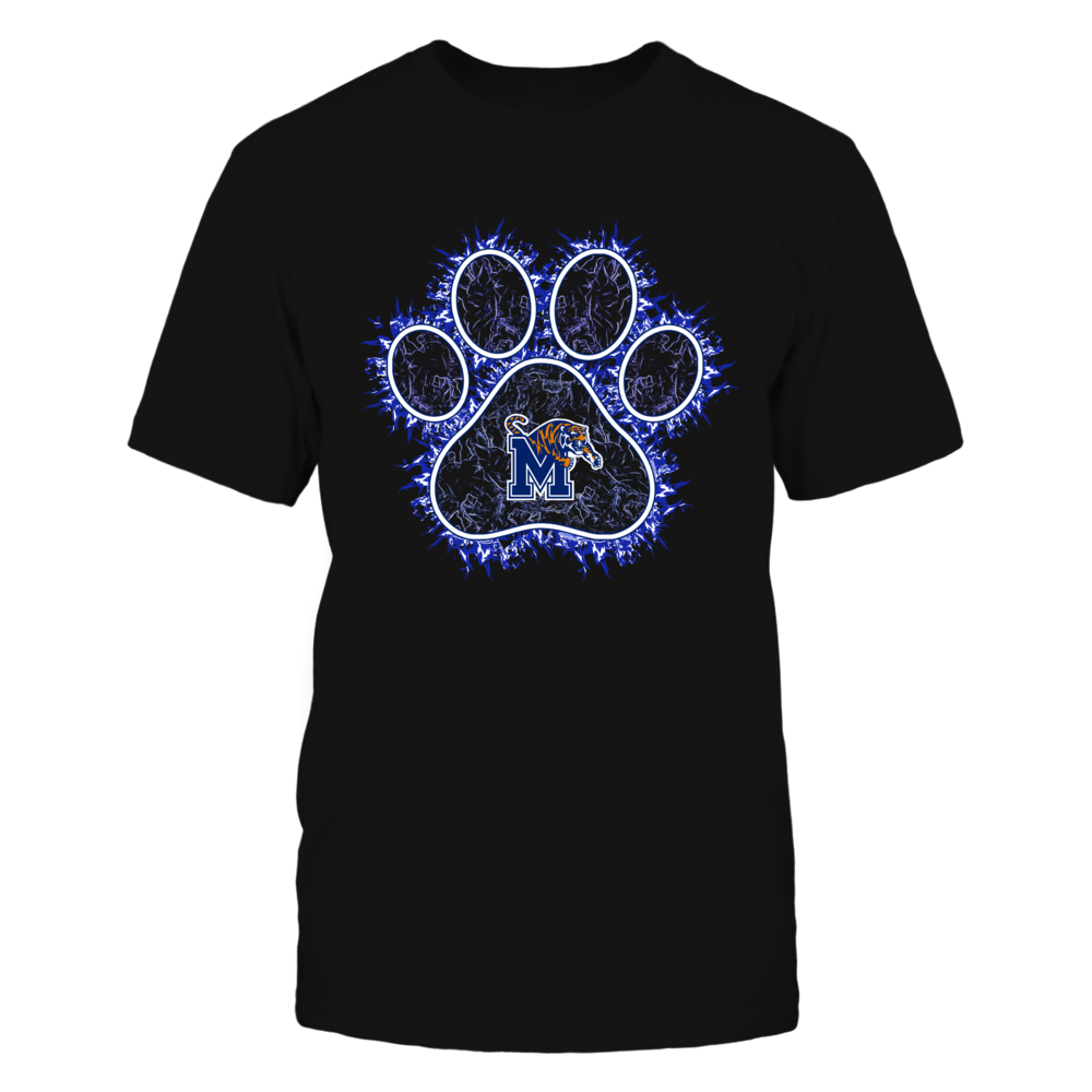 Memphis Tigers - Paw On Fire Front picture
