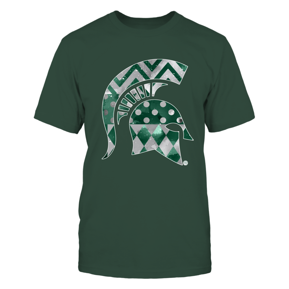 Michigan State Spartans - Galaxy Patterns Logo Front picture
