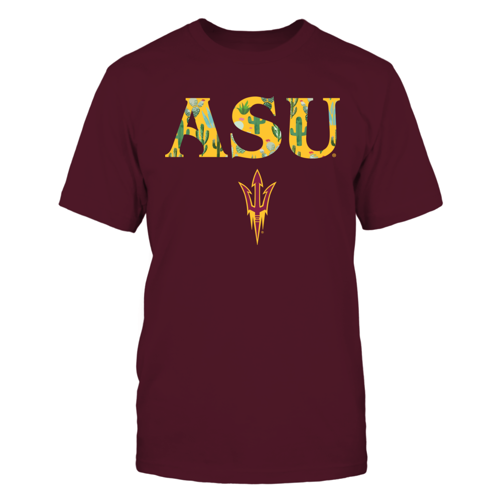 Arizona State Sun Devils - State Flower Inside Team Name - Cactus - IF-IC17-DS64 Front picture