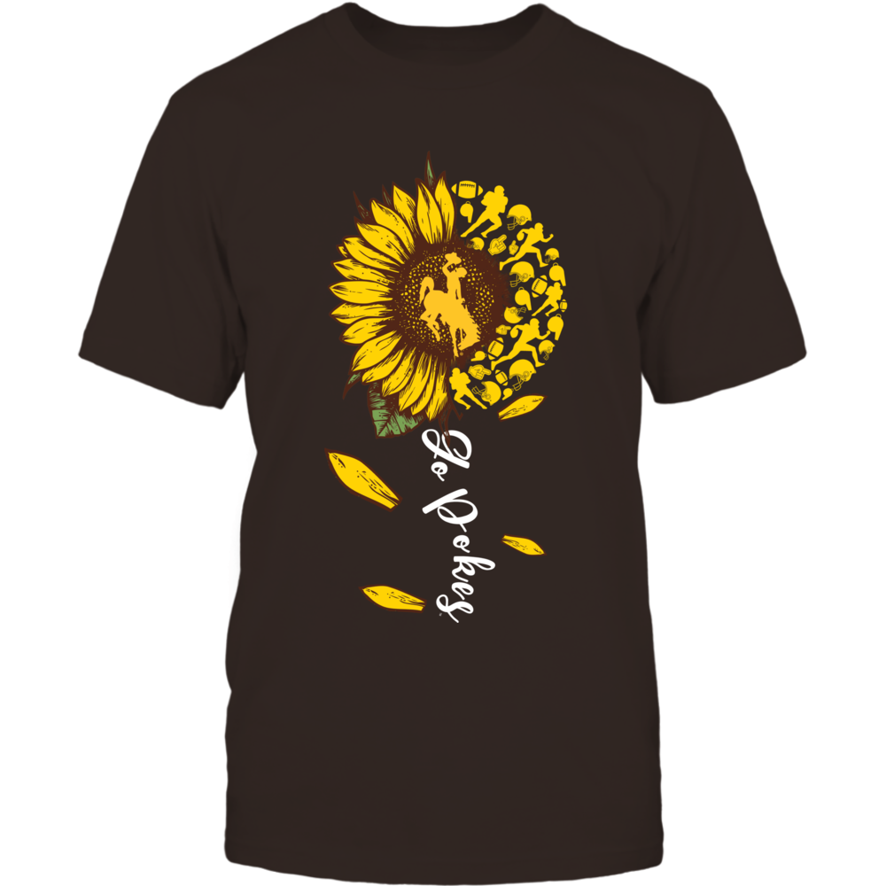Wyoming Cowboys - Sunflower Of Things - Slogan - Football Front picture