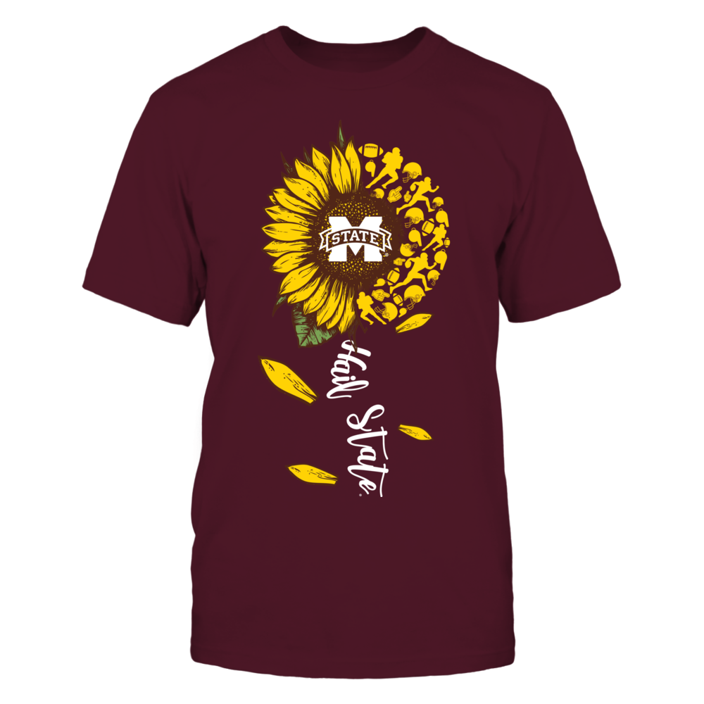 Mississippi State Bulldogs - Sunflower Of Things - Slogan - Football Front picture