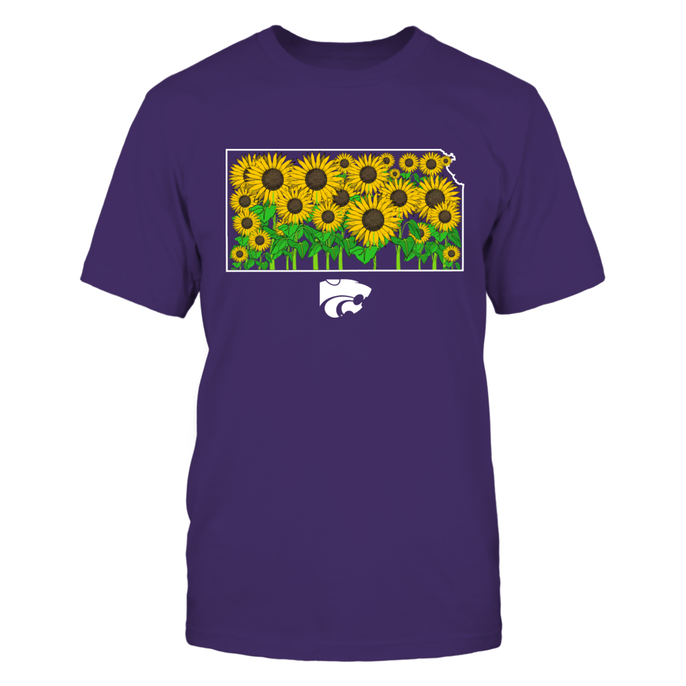 Kansas State Wildcats - Sunflower Inside State - IF13-IC13-DS64 Front picture