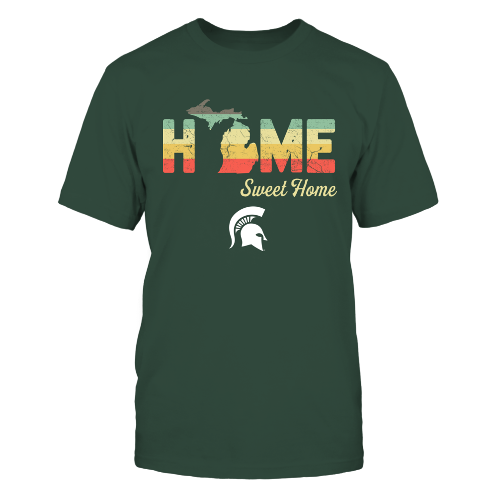 Michigan State Spartans - Home Sweet Home - Vintage Graphic - IF13-IC13-DS37 Front picture