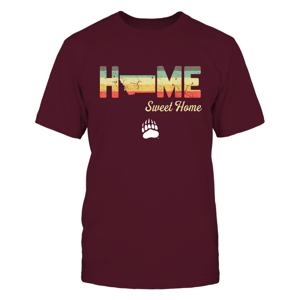 Montana Grizzlies - Home Sweet Home - Vintage Graphic - IF13-IC13-DS37 Front picture